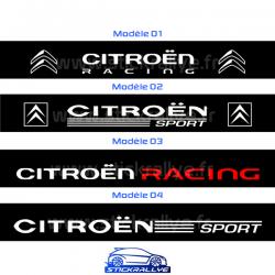 Bandeau Pare soleil Peugeot Sport Version A