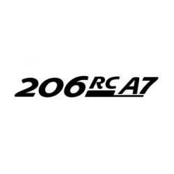 Stickers Peugeot 206 GT A7