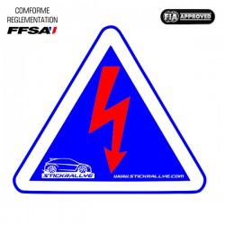 Autocollant Coupe Circuit FFSA