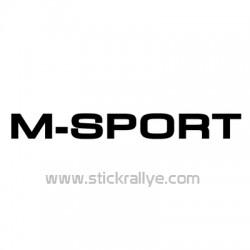 Stickers M Sport