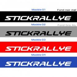 Bandeau Pare soleil STICK RALLYE Version B