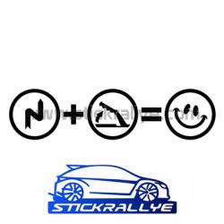 Stickers Frein à main rallye